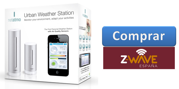 Comprar netatmo weather station