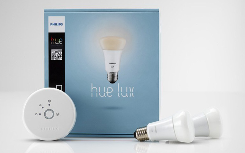 Embalaje Philips hue lux