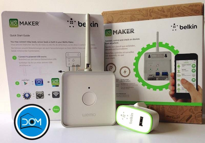 Wemo Maker - Packaging