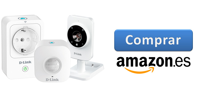 Comprar D-Link Smart Home HD Starter kit en Amazon