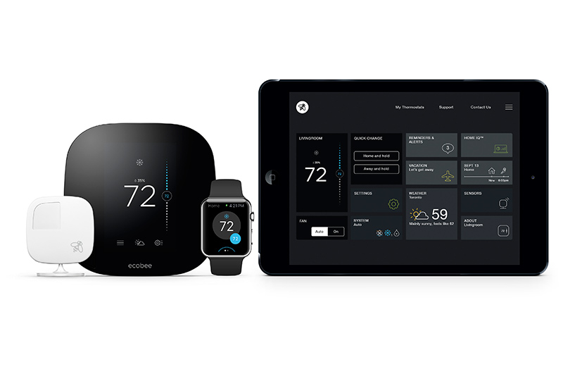 ecobee 3 compatible con Homekit de Apple