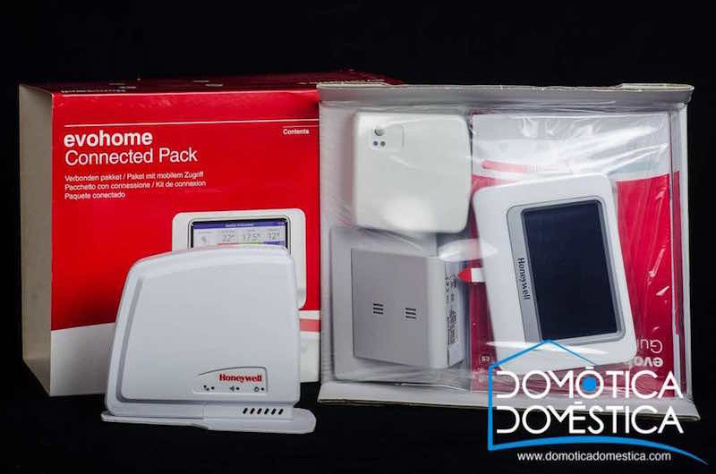 Connected Pack Evohome de Honeywell