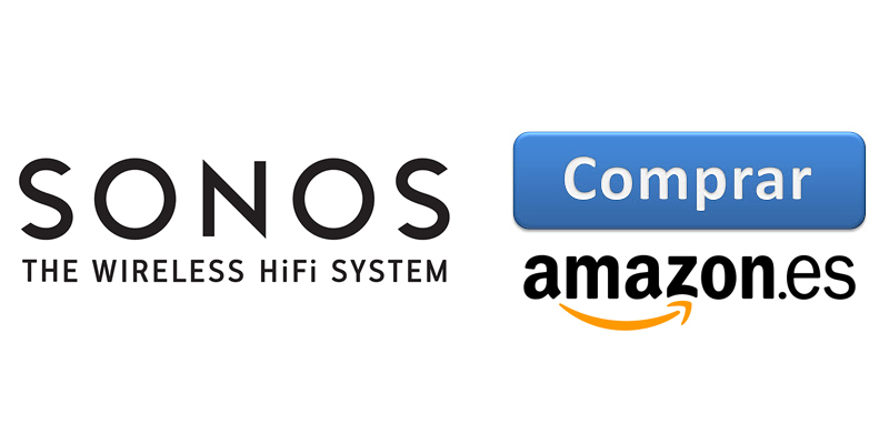 Comprar dispositivos Sonos en Amazon