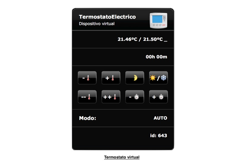 Termostato virtual