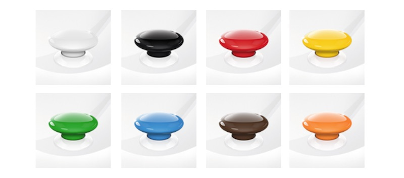 The Button de Fibaro - Colores disponibles