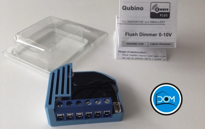 Flush Dimmer 0-10V de Qubino - Packaging
