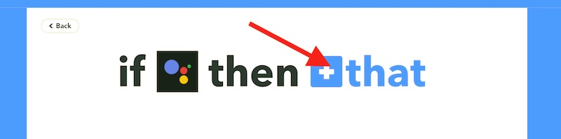 Applet en IFTTT - That