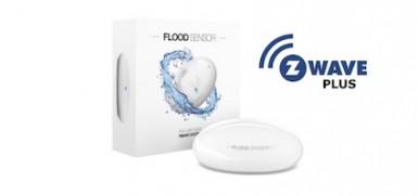 Sensor de inundación Z-Wave Plus de Fibaro