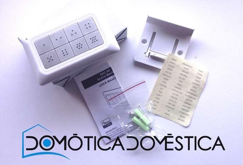 Remotec ZRC-90 - Contenido de la caja
