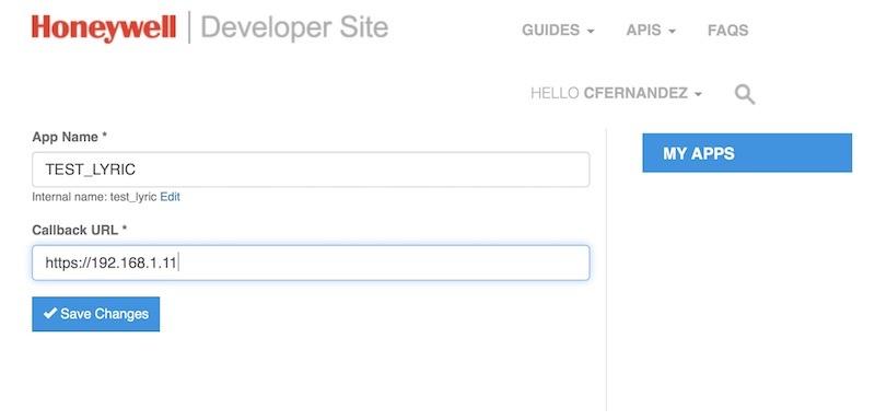 portal de desarrollo