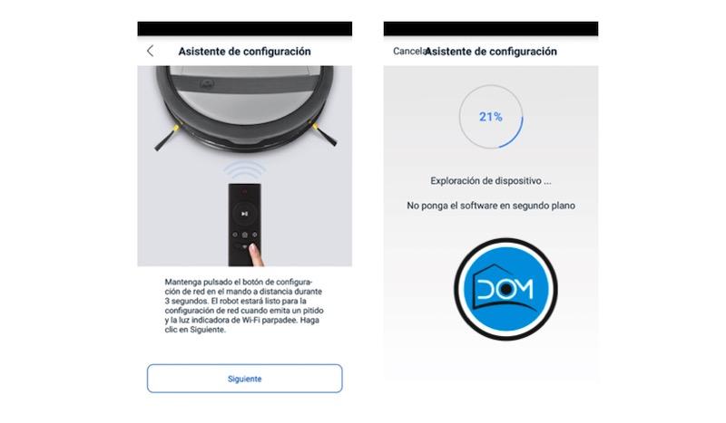 Deebot M88 - Conexión a Wifi