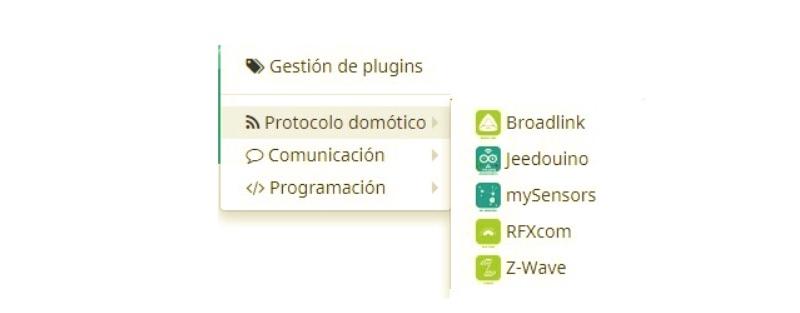 Plugin RFXCOm - Protocolo domótico