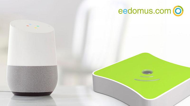 Eedomus y google home