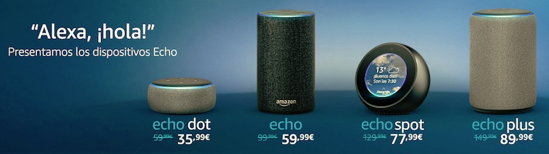 Amazon Echo/Alexa en España