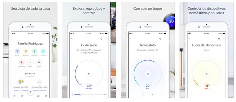 Google Home para iOS