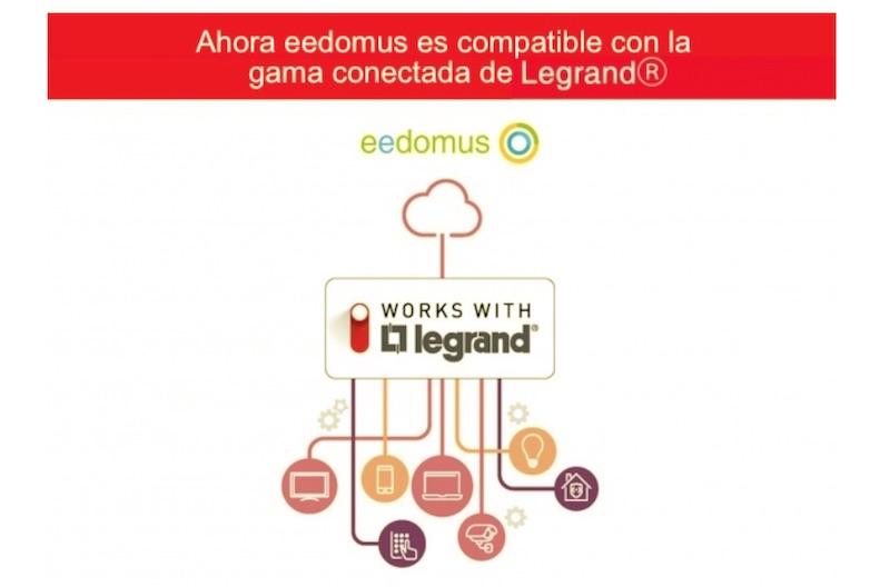 eedomus compatible con Legrand
