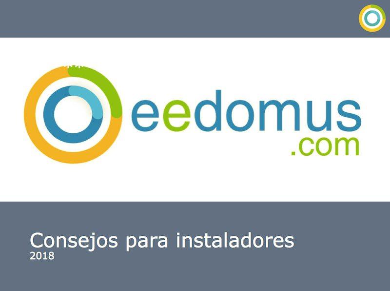 eedomus - Pautas para instaladores