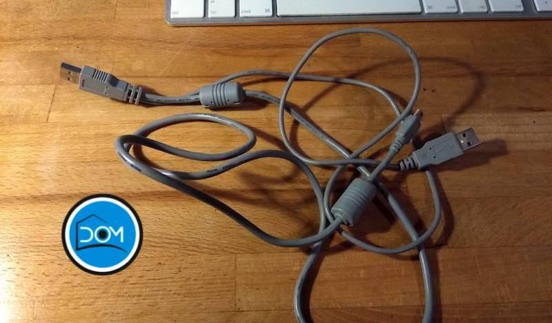 cable USB en Y
